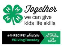 Giving Tuesday 4H
