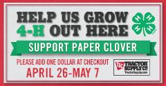 2017 Spring Paper Clover