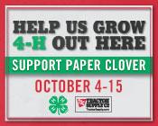 2017 Fall TSC Paper Clover 1